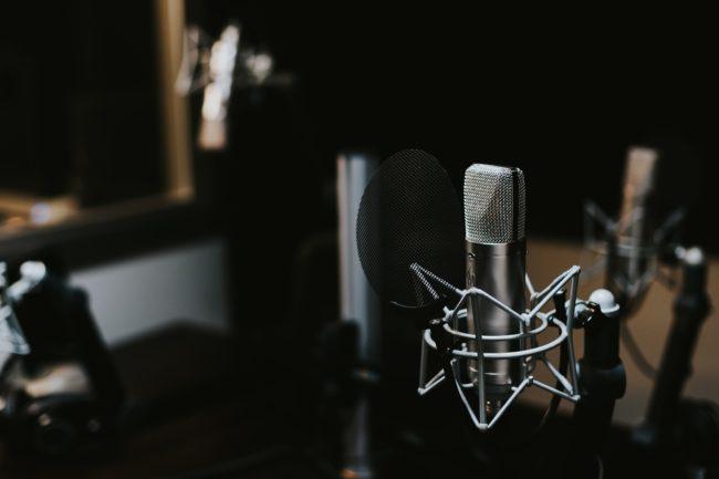 recording studio condenser mic